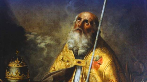 il santo di domani, il santo di oggi, santo del giorno, papa, San Silvestro I, Sicilia, Cultura
