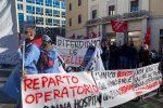 Protesta contro la chiusura del Sant'Anna Hospital