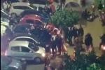 Follia natalizia a Ercolano, infrangono il lockdown e danno vita a una megarissa