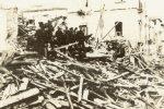 """La prima pagina de """"Il Telegrafo"""" con la notizia del terremoto del 1908 a Messina e Reggio Calabria"""