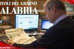 Rassegna stampa 25-01-2021 edizione Calabria