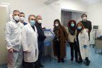 Il Vax Day a Reggio, ottimismo... contagioso
