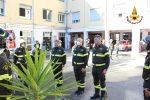 Catanzaro, le foto dell'omaggio alla patrona del corpo nazionale dei vigili del fuoco