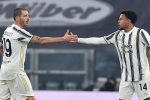 Juventus' Weston Mckennie jubilates after scoring the goal (1-1) during the italian Serie A soccer match Juventus FC vs Torino FC at the Allianz Stadium in Turin, Italy, 5 December 2020 ANSA/ALESSANDRO DI MARCO