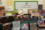 Messina, sequestrati oltre 300kg di botti illegali a Fondo Fucile