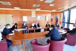 Una seduta della Giunta regionale della Calabria
