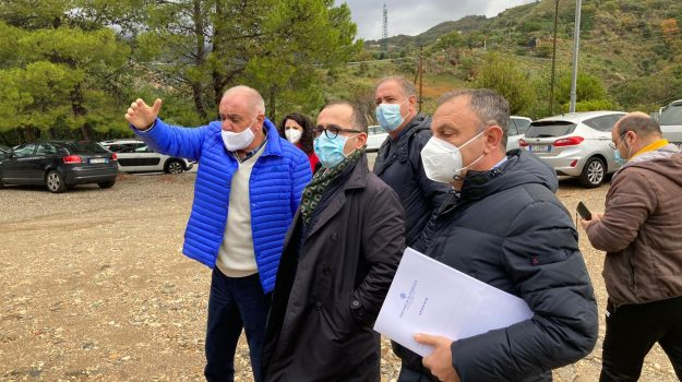 cetraro, ospedale, sopralluogo, Antonio De Caprio, Ermanno Cennamo, Vincenzo Cesareo, Cosenza, Politica