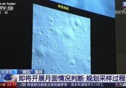 Chang'e-5, la sonda cinese è sulla Luna Le immagini diffuse da Cctv - Ansa