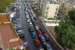 Messina Nord, lunghe code e traffico in tilt per i tamponi drive-in