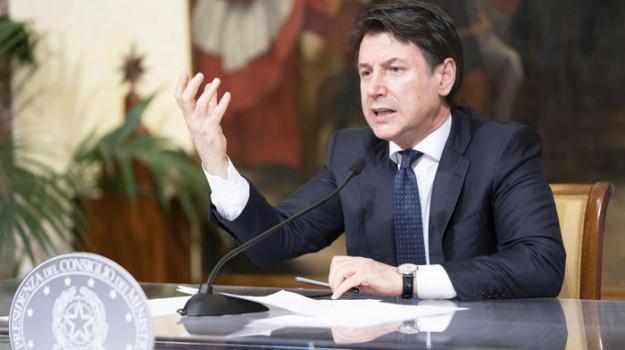 conferenza stampa, presidente del Consiglio, Giuseppe Conte, Sicilia, Politica