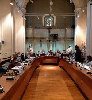 Una seduta del Consiglio comunale di Corigliano Rossano