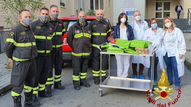 ospedale cosenza, pronto soccorso pediatrico, vigili del fuoco, Giuseppe Bennardo, Cosenza, Cronaca