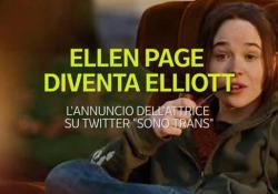 Ellen Page diventa Elliot, l'annuncio su Twitter: «Sono Trans» Per la prima volta, un'attrice di fama mondiale annuncia il cambiamento di sesso - Ansa