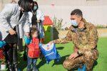 """Messina, la Brigata """"Aosta"""" e il sorriso dei bambini"""