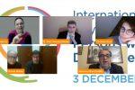 Confronto sui diritti delle persone disabili nel webinar UniMe