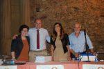 I consiglieri Maria Concetta Carnevale, Andrea Filella, Filomena Trotta e Franco Leta