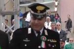 Il maresciallo Ivan Pucci ex comandante di Carolei