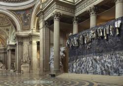 Kiefer al Pantheon di Parigi, l'installazione inaugurata da Macron Lo Stato francese ha affidato al grande artista e al musicista d'avanguardia Pascal Dusapin una gigantesca opera che mette in dialogo presente e passato - Corriere Tv