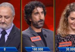 «L'Eredità», il campione sbaglia apposta una domanda: persi 180mila euro Massimo Cannoletta ha rinunciato a rispondere per favorire un altro concorrente - Ansa