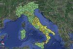 Maltempo: ancora neve e pioggia, allerta gialla anche in Calabria e Sicilia