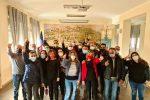 La festa dei lavoratori Lsu-Lpu di Monterosso calabro