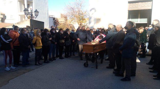 funerali, messina, torregrotta, fortunato calderone, Messina, Cronaca