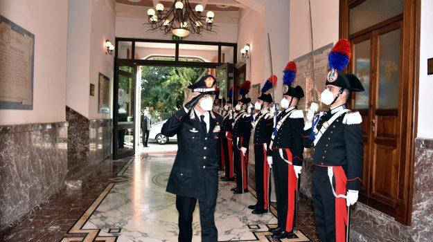 carabinieri, commiato, messina, Carmelo Burgio, Giovanni Nistri, Messina, Cronaca