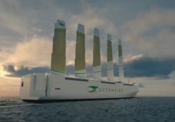 Oceanbird, ecco il mega cargo a propulsione eolica che trasporterà auto Il colosso creato dal consorzio svedese Wallenius Marine è lungo 200 metri e largo 90 - Corriere Tv