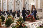 La bara del sindacalista Santino Paladino nella cattedrale di Messina