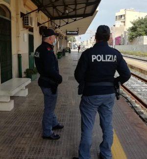 Controlli della polizia ferroviaria in Sicilia, 2 indagati e verifiche su 2.730 persone in una settimana
