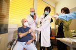 Il primo vaccinato calabrese è Francesco Cristiano, infermiere al Mater Domini