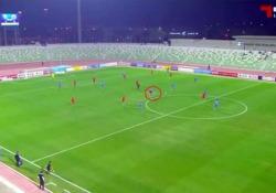 Qatar, Gunnarsson segna da dietro il centrocampo La rete di Aron Gunnarsson, giocatore dell'Al Arabi, squadra del campionato del Qatar - Dalla Rete