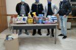 Reggio, generi alimentari per le famiglie bisognose