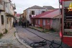 San Gregorio d'Ippona: incendio in una casa domato dai pompieri