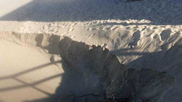 costa degli dei, erosione costiera, tropea, Catanzaro, Cronaca