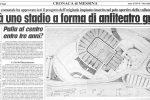 Stadio S.Filippo di Messina, tra promesse e proclami un'opera rimasta incompiuta