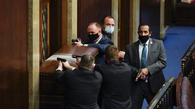 biden, congresso, donald trump, usa, Sicilia, Mondo