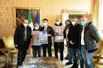 Il Presidente del Consiglio, Giuseppe Conte, incontra operai Whirpool a Palazzo Chigi