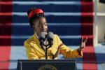 """La poetessa 22enne Gorman all'insediamento di Biden: """"Grata di aver preso parte alla cerimonia"""""""
