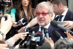 L'ex governatore della regione Lombardia Roberto Maroni