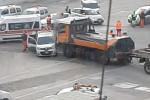 Porto di Gioia Tauro, scontro tra mezzo pesante e auto. C'è un ferito