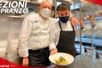 Tagliatelle con stocco, rape e acciughe: il piatto degli chef Maurizio ed Armando Sciarrone - VIDEO