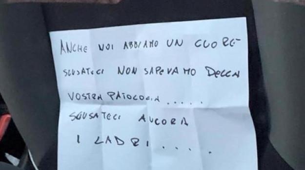 auto rubata disabile Bari, Sicilia, Cronaca