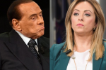 """Crisi governo, Meloni spinge per il voto e Berlusconi chiede un """"alto profilo"""""""