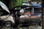 Corigliano, ennesimo incendio ai danni di un'autovettura. Il terzo da inizio anno