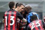 Coppa Italia, squalificati per un turno Ibrahimovic e Lukaku