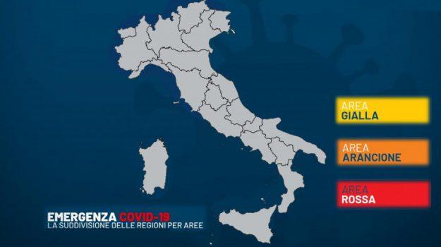 nuovo decreto, nuovo dpcm, zona rossa, Sicilia, Cronaca