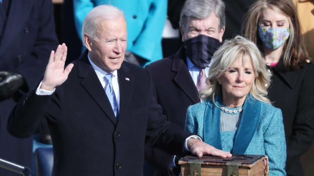 discorso insediamento, presidente, stati uniti, Joe Biden, Sicilia, Mondo