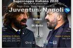 Juve e Napoli si sfidano per la quarta volta in Supercoppa. Pirlo sfida l'amico Gattuso