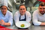Lo spaghettone quadrato con finocchietto e gamberi rossi di chef Caterina Ceraudo - VIDEO